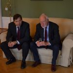 DDr. Michael Faltl mit Dr. Peter Kubicek