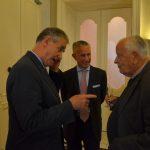 Gouverneur Prinz Gundakar von und zu Liechtenstein, Dr. Paul Pichler, Doz. Dr. Friedrich Romig
