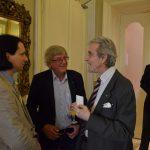 Markus Binder, BSc, Prof. DDr. Hans Hofinger, Kanzler Peter zu Stolberg, Reg.rat Andreas Strohmayer