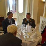 Gouverneur Liechtenstein im Gespräch mit Bgdr Andreas Rotter