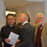 Die Ordensbrüder Rüdiger Petrini, Mag. Rainer Fradinger, Dr. Paul Pichler, Stefan Reichert