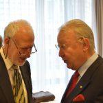 Dr. Peter Kubicek mit Ordenspate KR Peter Buresch