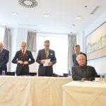 Gouverneur Prinz Gundakar von und zu Liechtenstein begrüßt die Teilnehmer