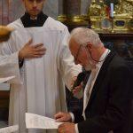 Dr. Peter Kubicek beim Gelöbnis