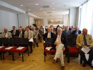 Bei der Jahresversammlung der St. Georgs-Ritter