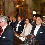 Die Ordensgemeinschaft und Gäste