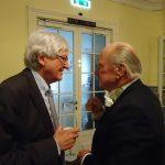 Prof. Hans Hofinger und Baron Michael Senfft