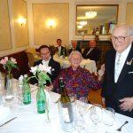Mit 95, der älteste Ritter, Roman Jaekel