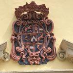 Wappen der Grafen von Herberstein, welche Kirche und Klostergebäude ursprünglich gestiftet haben