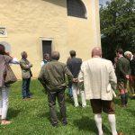Bei der geführten Besichtigung der Kirche von St. Johann bei Herberstein