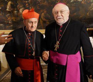Ernest-Kardinal-Simoni-und-Nuntius-Peter-Zurbriggen