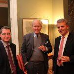 Botschafter Mag. Thomas Schuller v. Götzburg, Georg v. Halbgebauer, RA Dr. Martin Prohaska v. Marchried
